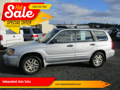 2004 Subaru Forester for sale at Independent Auto Sales in Spokane Valley WA