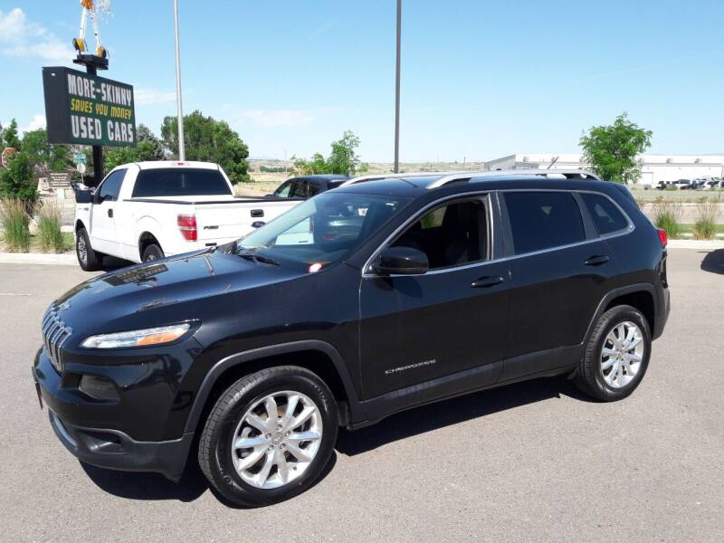 2015 Jeep Cherokee for sale at More-Skinny Used Cars in Pueblo CO