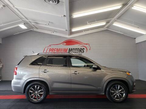 2013 Kia Sorento for sale at Premium Motors in Villa Park IL
