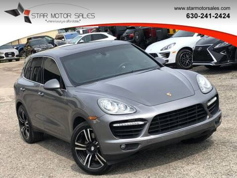 2011 Porsche Cayenne for sale at Star Motor Sales in Downers Grove IL