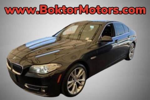 2015 BMW 5 Series for sale at Boktor Motors in North Hollywood CA