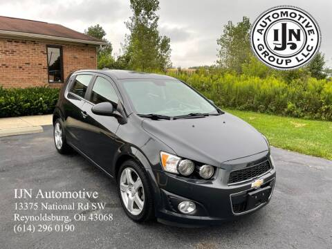 2015 Chevrolet Sonic for sale at IJN Automotive Group LLC in Reynoldsburg OH
