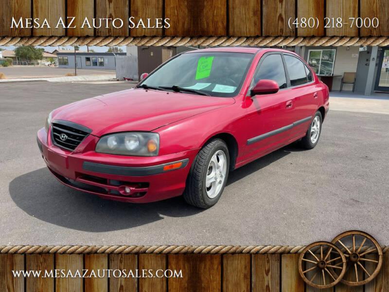 2005 Hyundai Elantra for sale at Mesa AZ Auto Sales in Apache Junction AZ