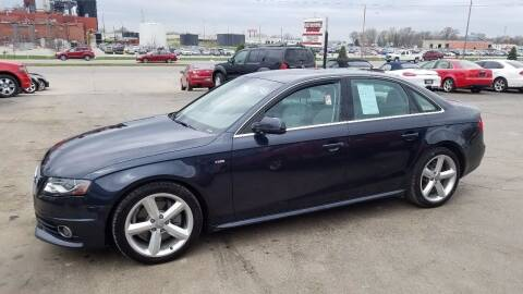 2012 Audi A4 for sale at Downing Auto Sales in Des Moines IA