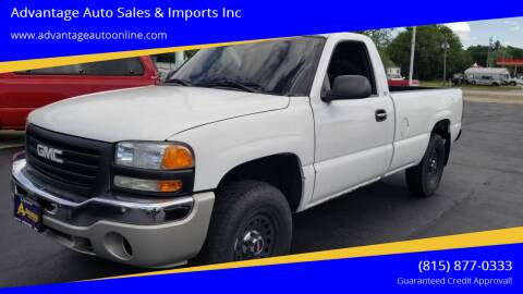 2002 GMC Sierra 1500 for sale at Advantage Auto Sales & Imports Inc in Loves Park IL