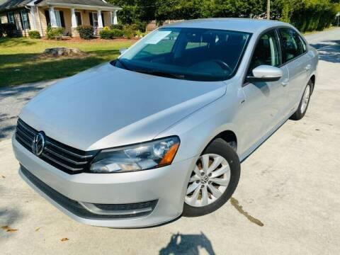 2015 Volkswagen Passat for sale at E-Z Auto Finance in Marietta GA