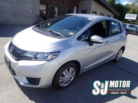 2016 Honda Fit for sale at S & J Motor Co Inc. in Merrimack NH