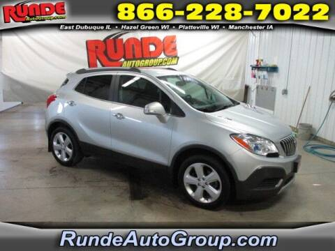 2016 Buick Encore for sale at Runde Chevrolet in East Dubuque IL