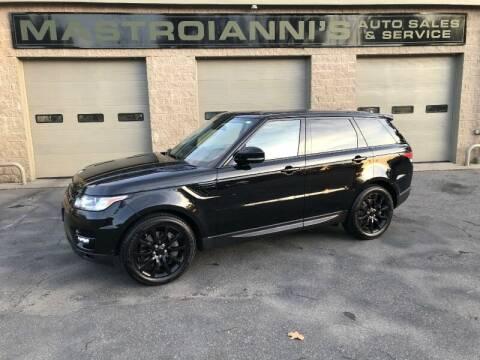 2014 Land Rover Range Rover Sport for sale at Mastroianni Auto Sales in Palmer MA