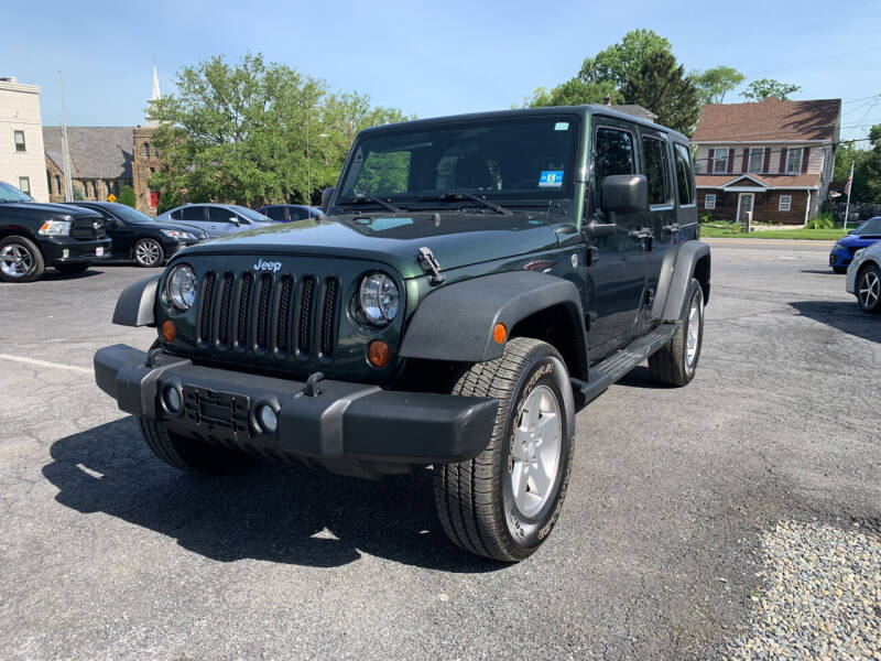 2011 Jeep Wrangler Unlimited for sale at 1NCE DRIVEN in Easton PA