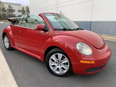 2008 Volkswagen New Beetle Convertible for sale at PM Auto Group LLC in Chantilly VA