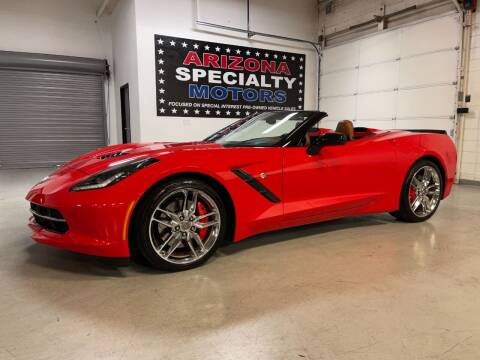 2014 Chevrolet Corvette for sale at Arizona Specialty Motors in Tempe AZ