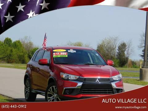 2017 Mitsubishi Outlander Sport for sale at AUTO VILLAGE LLC in Lebanon TN