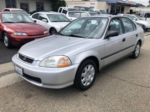 1998 Honda Civic for sale at Ricos Auto Sales in Escondido CA