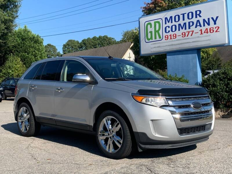 2013 Ford Edge for sale at GR Motor Company in Garner NC