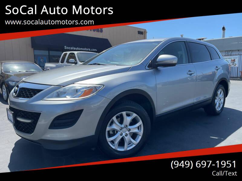 2012 Mazda CX-9 for sale at SoCal Auto Motors in Costa Mesa CA