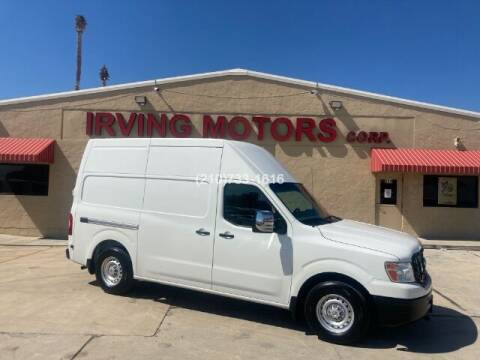 2016 Nissan NV Cargo for sale at Irving Motors Corp in San Antonio TX
