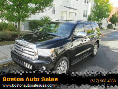 2012 Toyota Sequoia for sale at Boston Auto Sales in Brighton MA