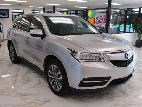 2014 Acura MDX for sale at Dealer One Auto Credit in Oklahoma City OK