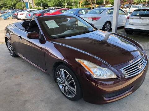 2010 Infiniti G37 Convertible for sale at Auto Smart Charlotte in Charlotte NC