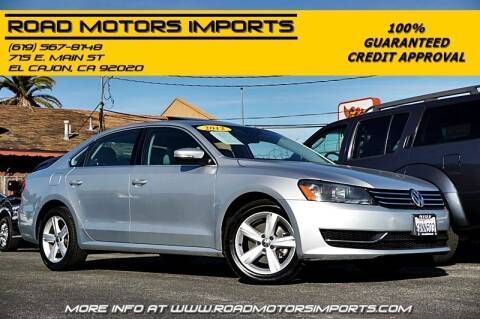2012 Volkswagen Passat for sale at Road Motors Imports in El Cajon CA