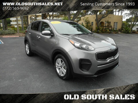 2018 Kia Sportage for sale at OLD SOUTH SALES in Vero Beach FL
