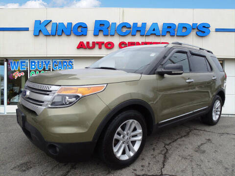 2012 Ford Explorer for sale at KING RICHARDS AUTO CENTER in East Providence RI