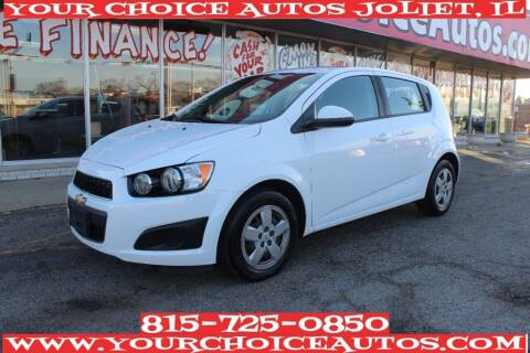 2015 Chevrolet Sonic for sale at Your Choice Autos - Joliet in Joliet IL