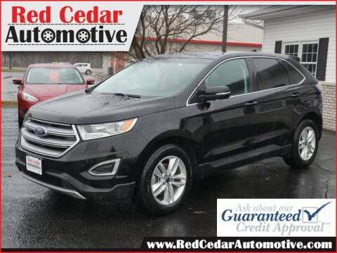 2016 Ford Edge for sale at Red Cedar Automotive in Menomonie WI