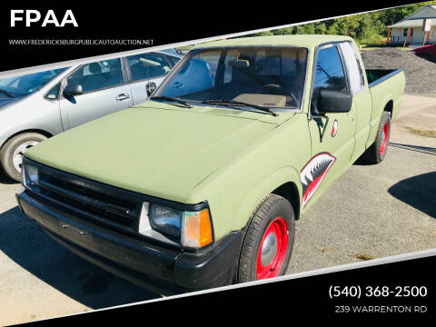 1991 Mazda B-Series Pickup for sale at FPAA in Fredericksburg VA