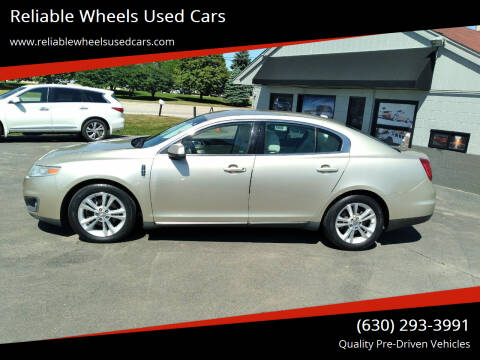 2011 Lincoln MKS for sale at Reliable Wheels Used Cars in West Chicago IL
