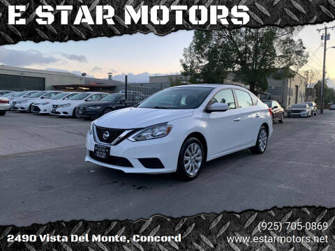 2018 Nissan Sentra for sale at E STAR MOTORS in Concord CA