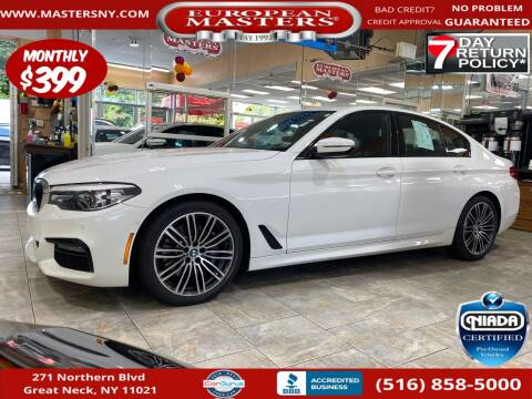 2019 BMW 5 Series for sale at European Masters in Great Neck NY