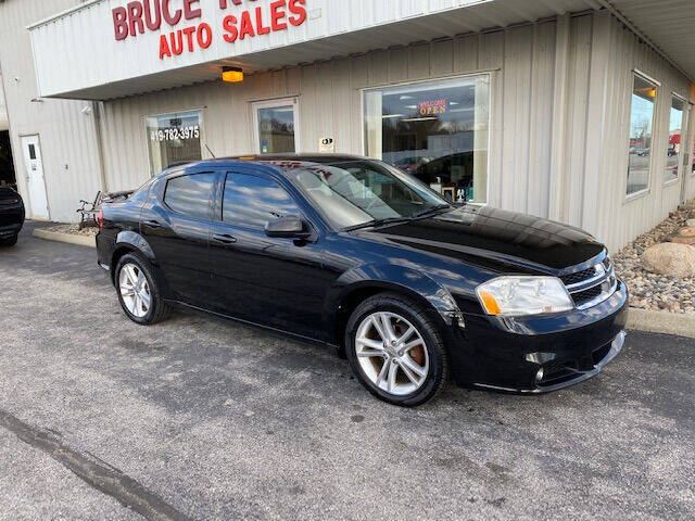 2011 Dodge Avenger for sale at Bruce Kunesh Auto Sales Inc in Defiance OH