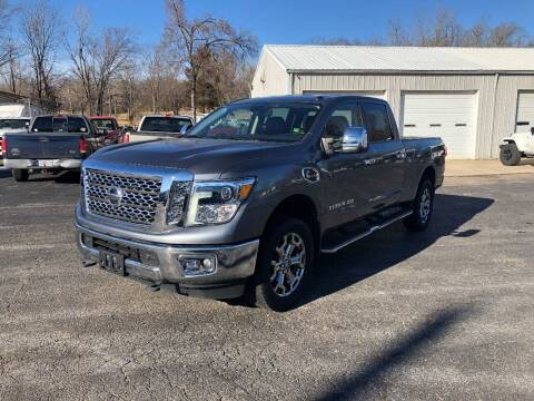 2017 Nissan Titan XD for sale at Jones Auto Sales in Poplar Bluff MO