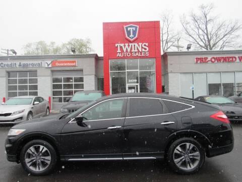 2013 Honda Crosstour for sale at Twins Auto Sales Inc in Detroit MI