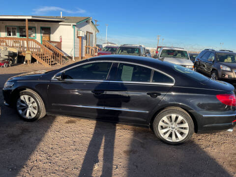 2010 Volkswagen CC for sale at PYRAMID MOTORS - Fountain Lot in Fountain CO