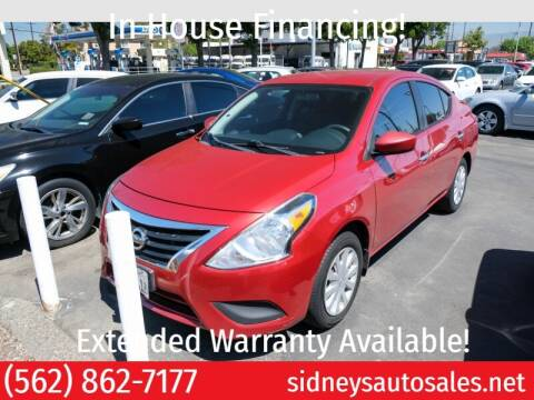 2015 Nissan Versa for sale at Sidney Auto Sales in Downey CA