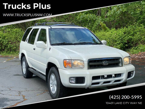 2001 Nissan Pathfinder for sale at Trucks Plus in Seattle WA