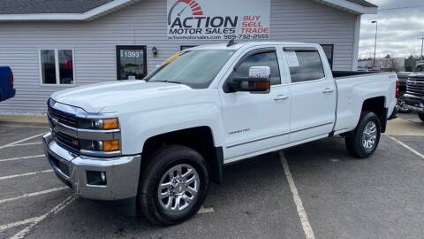 2016 Chevrolet Silverado 3500HD for sale at Action Motor Sales in Gaylord MI