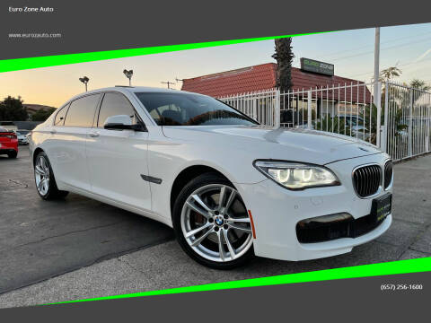 2013 BMW 7 Series for sale at Euro Zone Auto in Stanton CA