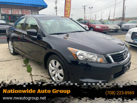 2008 Honda Accord for sale at Nationwide Auto Group in Melrose Park IL