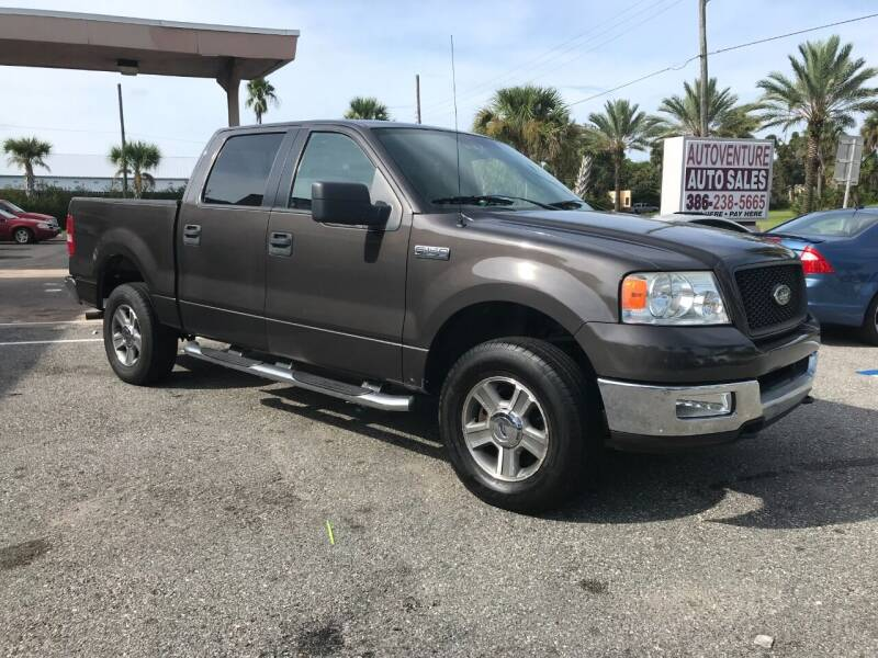 2005 Ford F-150 for sale at AutoVenture in Holly Hill FL