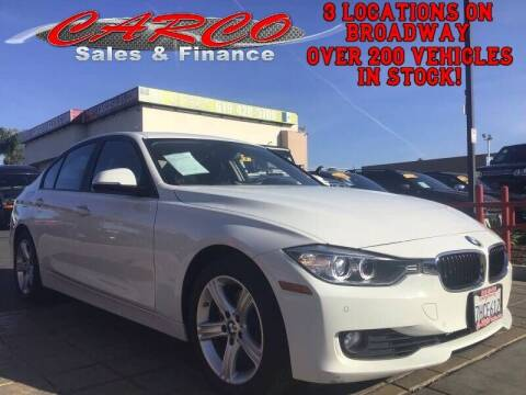 2015 BMW 3 Series for sale at CARCO SALES & FINANCE in Chula Vista CA