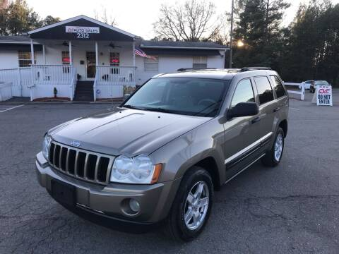 2005 Jeep Grand Cherokee for sale at CVC AUTO SALES in Durham NC