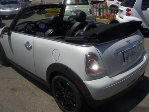 2012 MINI Cooper Convertible for sale at Alliance Auto Group Inc in Fullerton CA