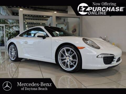 2014 Porsche 911 for sale at Mercedes-Benz of Daytona Beach in Daytona Beach FL