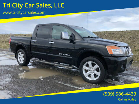 2009 Nissan Titan for sale at Tri City Car Sales, LLC in Kennewick WA