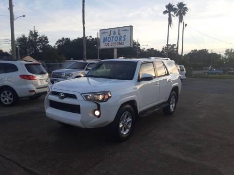 2015 Toyota 4Runner for sale at J & L Motors in Pascagoula MS