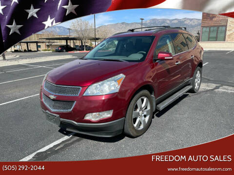 2011 Chevrolet Traverse for sale at Freedom Auto Sales in Albuquerque NM